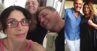 Mimmo Tuccillo con Carmen Di Pietro e Serena Grandi.
