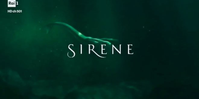 Le Sirene nuotano in TV