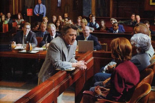 Dustin Hoffman avvocato nel film La Giuria.
