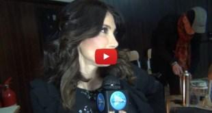 Carmen Di Pietro, intervista nel backstage
