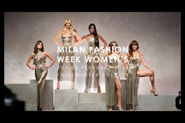 Milano Fashion Week 2018. Foto da Facebook
