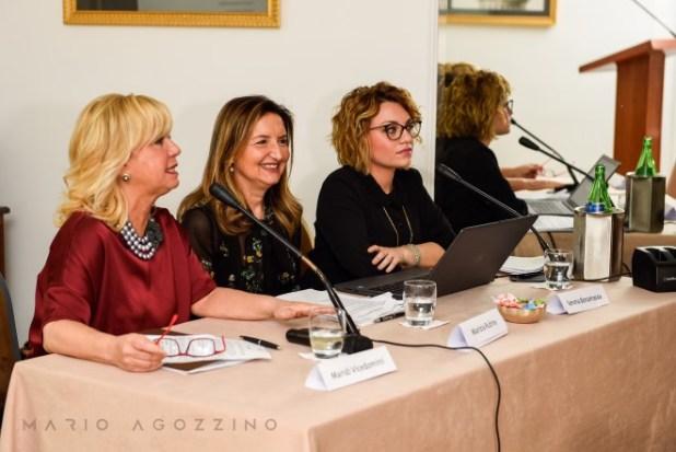 Vicedomini, Rubino e Bonamassa al tavolo di presentazione
