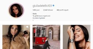 Giulia De Lellis su Instagram