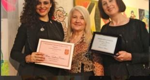 Sabrina Tutone il premio Arte e Gusto per il teatro