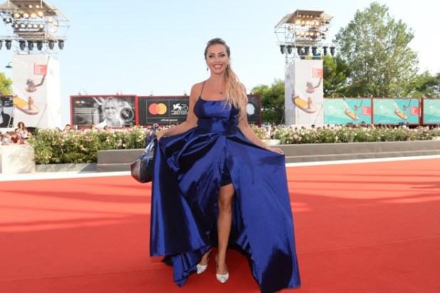 Anna Brancati sul red carpet di Venezia76