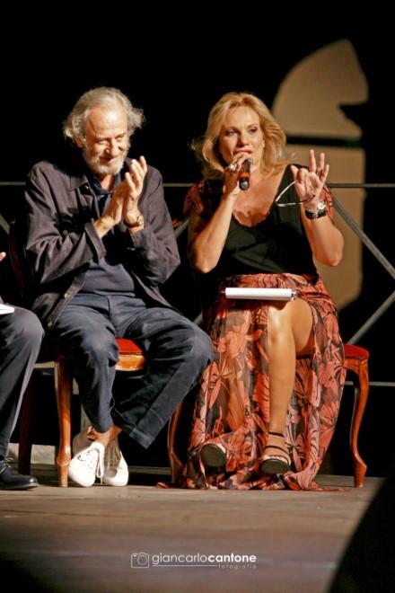 Mariano Rigillo e Lorenza Licenziati per Incontri in città. Foto di Giancarlo Cantone
