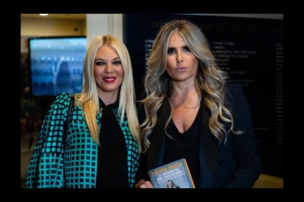 Eleonora Daniele con Tiziana Rocca alla presentazione di Il Segreto del Successo