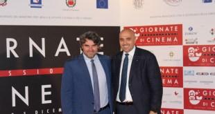 Giuseppe Cappiello, Presidente del Sorrento Calcio e Carmine Zigarelli, Presidente Lega Dilettanti Campania
