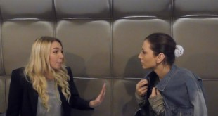 Patty (Susanna Severino) e Valentina (Edda Curcio) sul set di Un Premio per la vita
