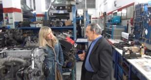 Un momento dell'intervista ad Antonio Nani-Mele della Mele MotorSport