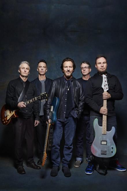Pearl Jam. Foto di Danny Clinch