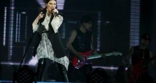 Laura Pausini live. Foto di Umberto Poto