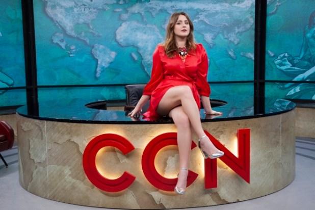 Michela Giraud conduttrice di Comedy Central News