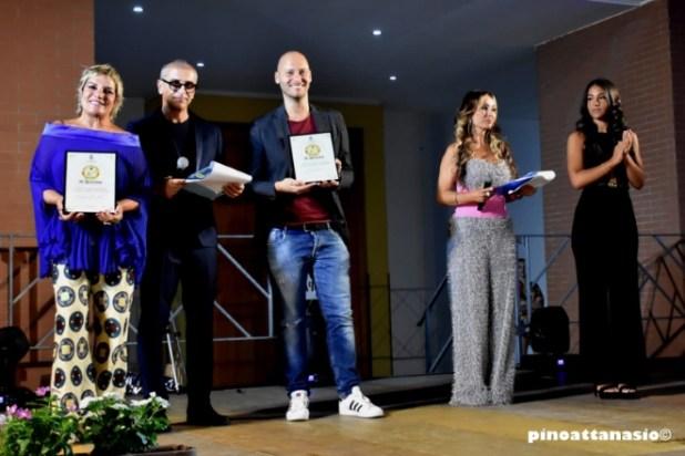 Fabio Massa e Cristina Donadio ritirano il premio La Fescina 2020