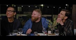 Gino Sorbillo, Egidio Cerrone e Vincenzo Falcone nel film Alessandra