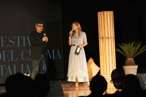 Paolo Genovese e Veronica Maya al Festival del Cinema Italiano 2020