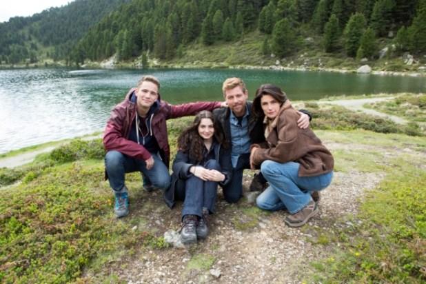 Il cast di Vite in fuga. Foto di Assunta Servello