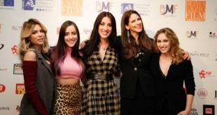 Ludovica Pagani, Giulia Penna, Angelica Massera, Janet De Nardis e Alina Person per il Digital Media Fest