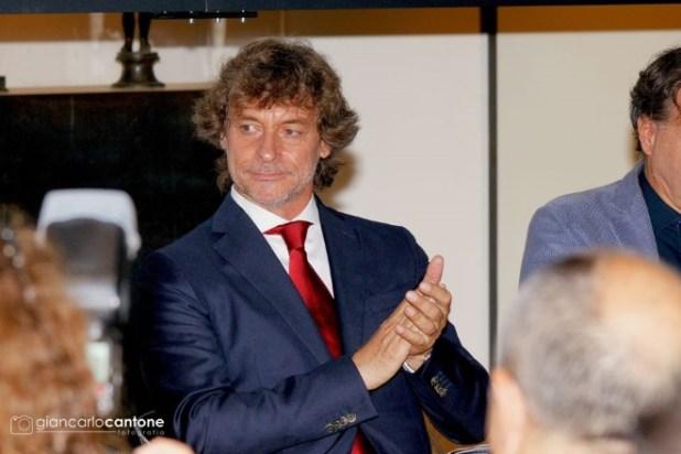 Alberto Angela conduttore di Stanotte a Pompei. Foto di Giancarlo Cantone