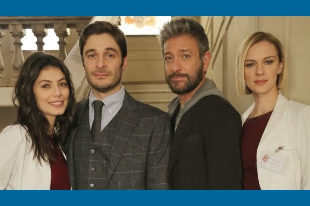 Il cast de L'Allieva 4 - Alessandra Mastronardi, Lino Guanciale, Sergio Assisi, Antonia Liskova