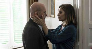 Luca Zingaretti e Greta Scarano in Il Commissario Montalbano