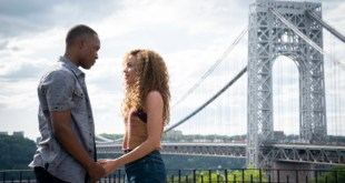 """COREY HAWKINS as Benny and LESLIE GRACE as Nina in Warner Bros. Pictures' """"IN THE HEIGHTS,"""" a Warner Bros. Pictures release. Copyright: © 2019 Warner Bros. Entertainment Inc. All Rights Reserved. Photo Credit: Macall Polay"""