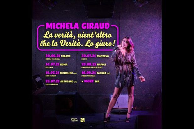 Michela Giraud - La verità, nient'altro che la verità lo giuro! 2021