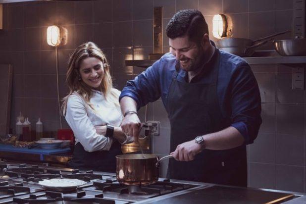 Salvatore Esposito e Greta Scarano per L'ultima cena. Foto di Chiara Calabrò