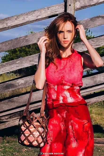 Dona Rufina per Brasil Eco Fashion Week alla Milano Fashion Week. Foto di Adilson Roccini