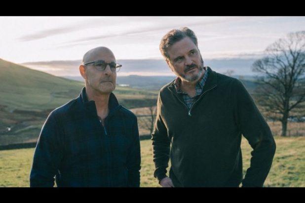 Stanley Tucci e Colin Firth per Supernova. Foto dal Web