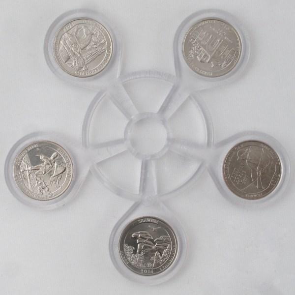 2016 Quarter Coin Carousel