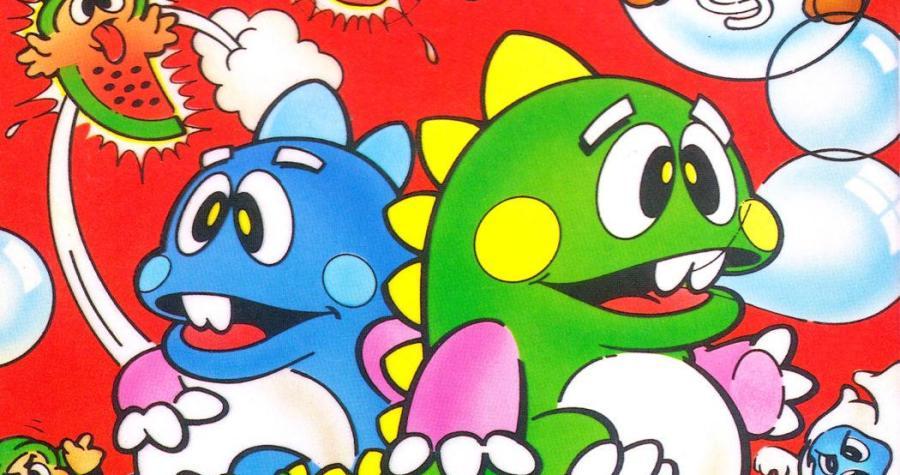 Bubble Bobble retro game