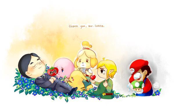 Thank you for playing Satoru Iwata Nintendo
