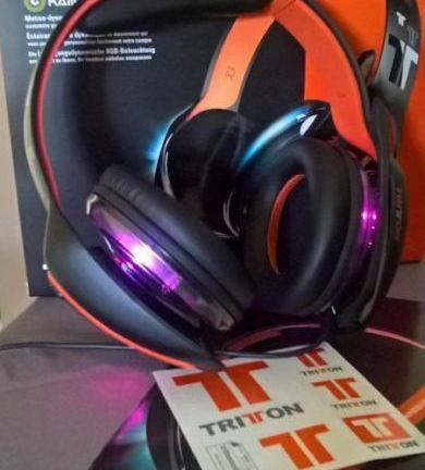 ARK 100 PS4 Tritton, casque son & lumières