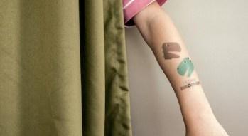 tattoo tattyoo peluqueria infantil geganteta