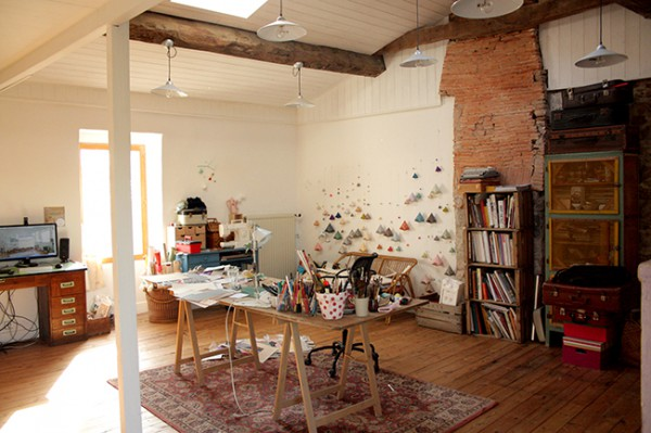 Zoom Sur Sophie Morille Designer Textile Qui Sinspire Du