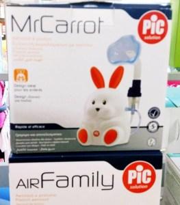 PIC aerosol della Parafarmacia Picconi descritto da L'Agenda di mamma Bea