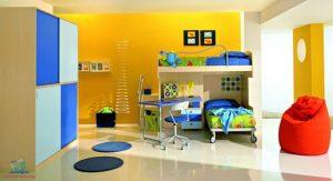 come scegliere il colore per decorare una cameretta di giallo secondo L'Agenda di mamma Bea