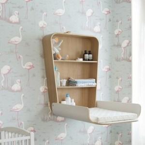 idee per un bagno con armadietto con i prodotti per il neonato secondo L'Agenda di mamma Bea