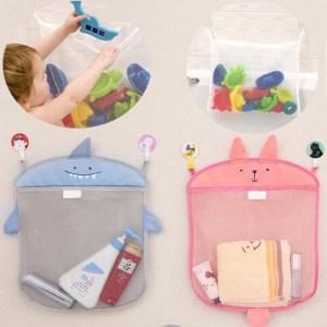 idee per un bagno con portaoggetti secondo L'Agenda di mamma Bea