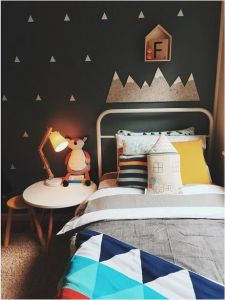 7 stanze multicolore con colori scuri pensate da L'Agenda di mamma Bea