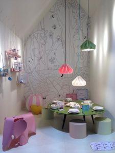 7 stanze multicolore con lampadari pensate da L'Agenda di mamma Bea