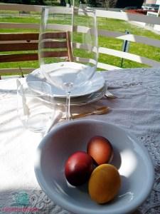 decorare la tavola con un'atmosfera en plain air de L'Agenda di mamma Bea