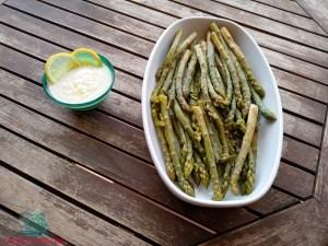 né carne né pesce con gli asparagi preparati da L'Agenda di mamma Bea