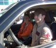 Drivers Justin and Amber Broussard in Ecto LA-1