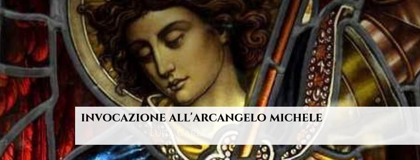 Invocazione all'Arcangelo Michele – protezione energetica