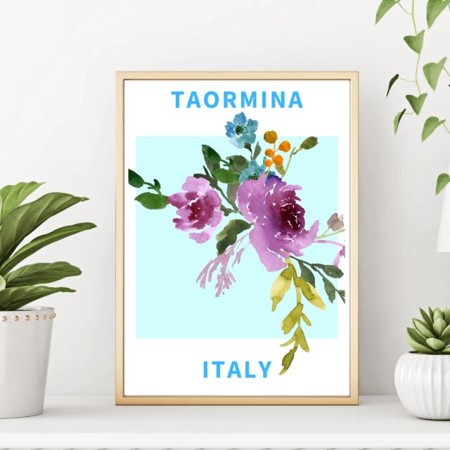Taormina - Italian Wonders Poster