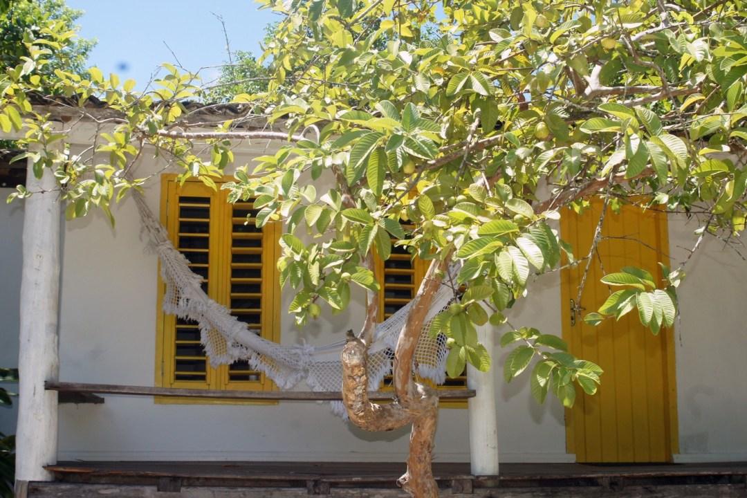 bangalô amarelo