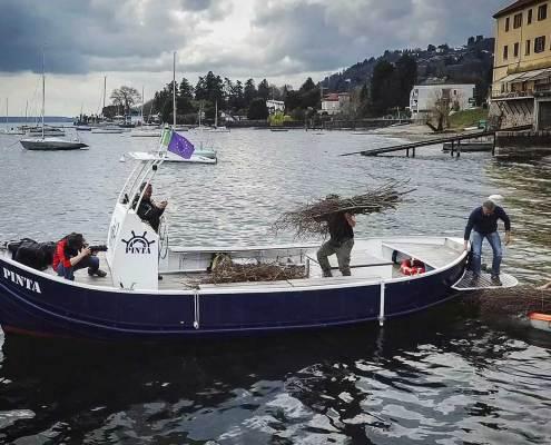 Crociera sul lago Maggiore con la Pinta