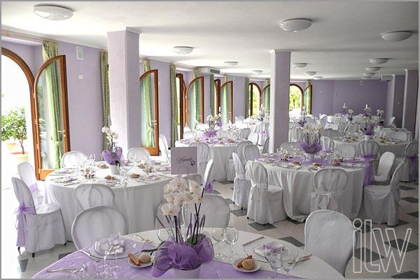 sala matrimoni Villa Ortea